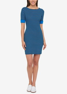 Tommy Hilfiger Cotton Striped Dress, Created for Macy's