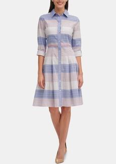 Tommy Hilfiger Cotton Striped Shirtdress