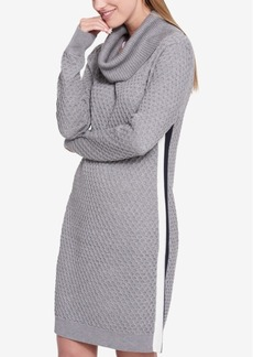 Tommy Hilfiger Cowl-Neck Sweater Dress, Created for Macy's