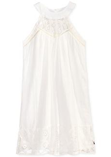 Tommy Hilfiger Crochet-Trim Tank Dress, Big Girls (7-16)