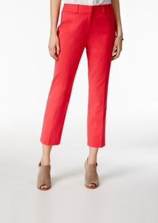 Tommy Hilfiger Cropped Straight-Leg Pants, Only at Macy's