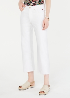 Tommy Hilfiger Cropped White Jeans, Created for Macy's