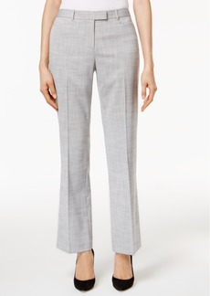 Tommy Hilfiger Crosshatch Straight-Leg Trousers