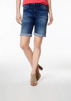 Tommy Hilfiger Cuffed Bermuda Shorts, Only at Macy's