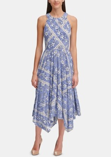 Tommy Hilfiger Denim Floral Midi Dress