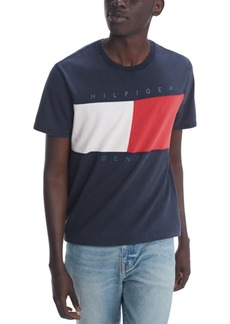 Tommy Hilfiger Denim Men's Beason Flag T-Shirt