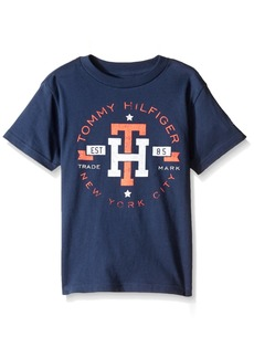 Tommy Hilfiger Denim Men's Big Boys' Graphic Short Sleeve Tee