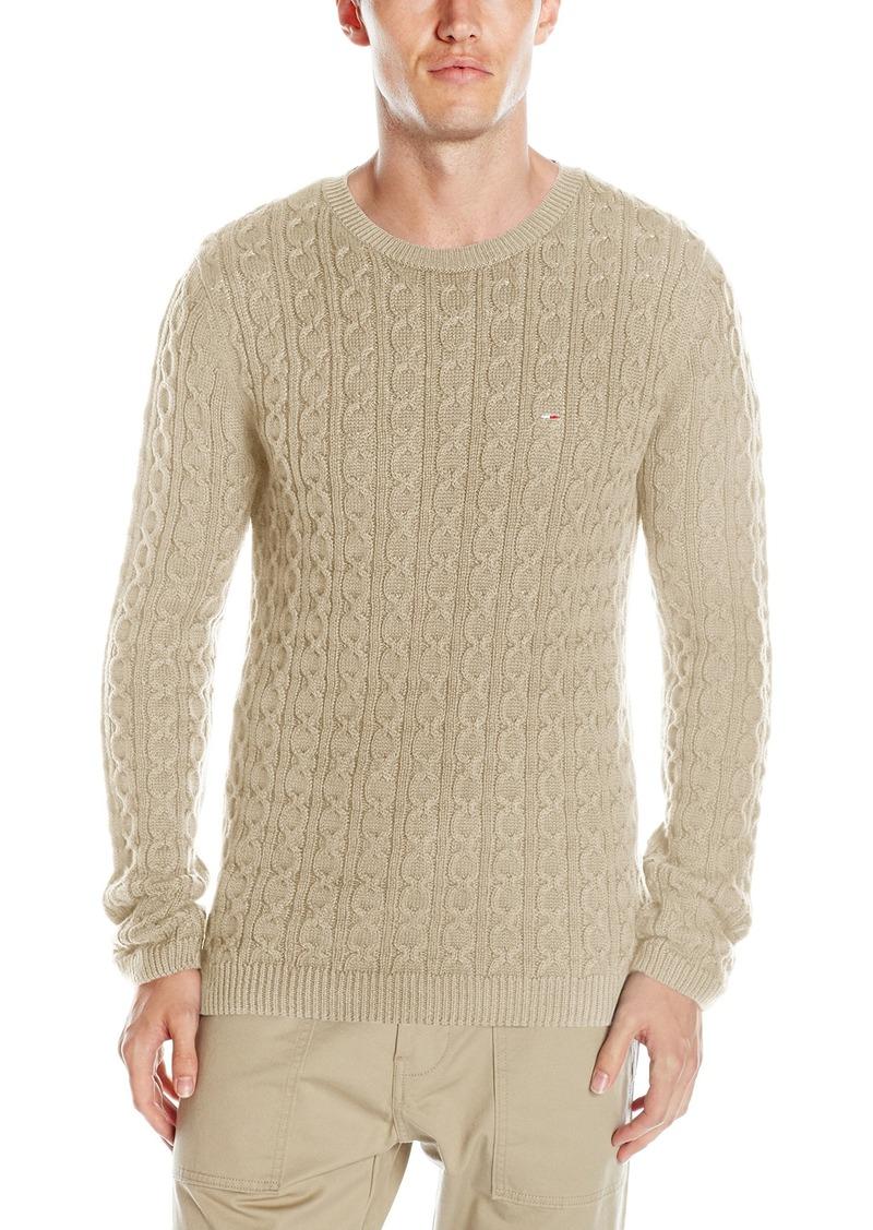 Tommy Hilfiger Tommy Hilfiger Denim Men's Cotton Cable Knit ...