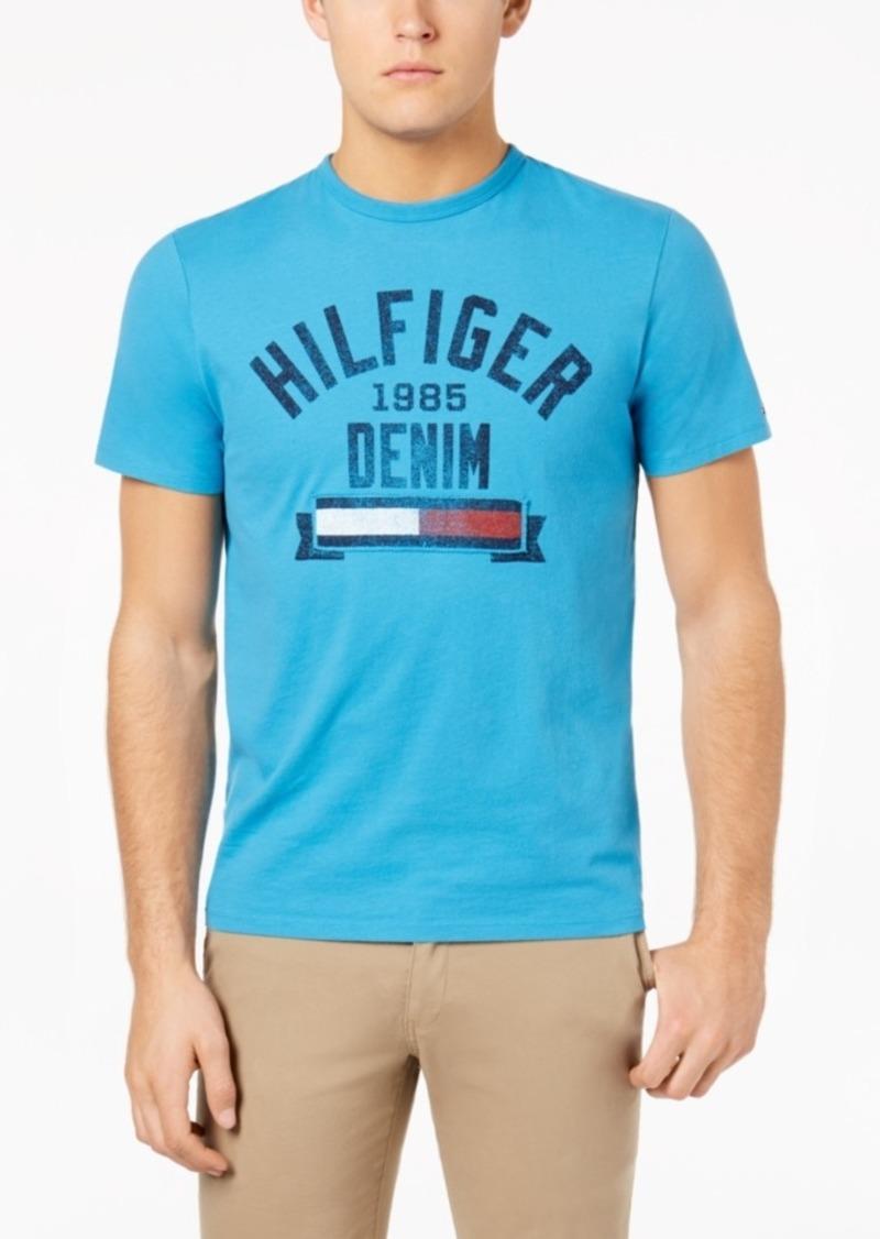 1f9744c0a0 Tommy Hilfiger Tommy Hilfiger Denim Men s Graphic-Print T-Shirt