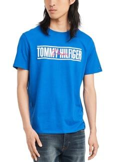 Tommy Hilfiger Denim Men's Headon Logo Graphic T-Shirt