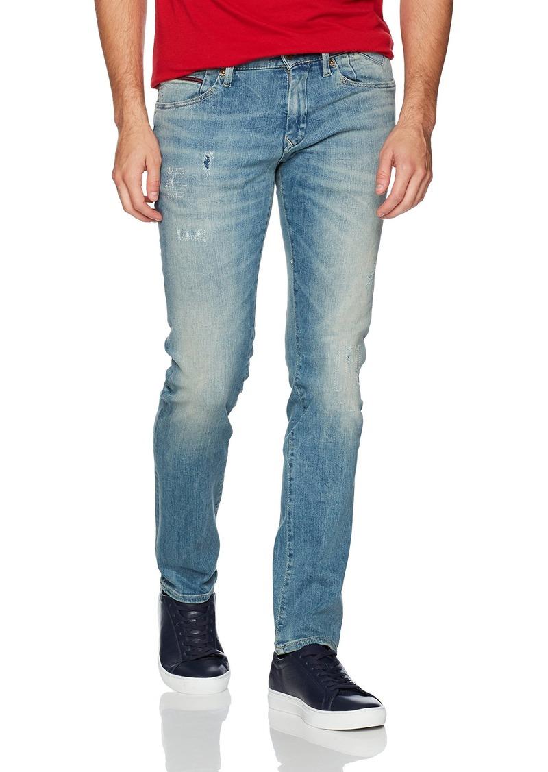 a211fbd0 Denim Men's Jeans Original Scanton Slim Fit Jean Dynamic X LT Blue DSTRCTD  Stretch 31x32. Tommy Hilfiger