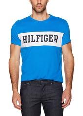 Tommy Hilfiger Tommy Jeans Men's Denim Logo Stripe Short Sleeve T-Shirt Skydiver