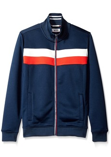 Tommy Hilfiger Denim Men's Long Sleeve Zip Front Track Jacket