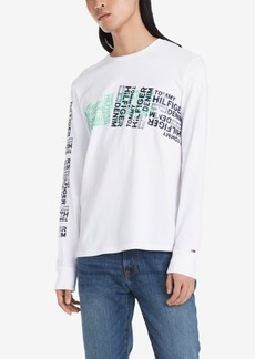 Tommy Hilfiger Denim Men's Metro Logo Graphic T-Shirt