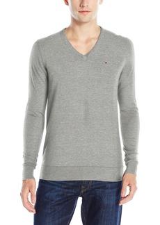 Tommy Hilfiger Denim Men's Original Cotton Blend V-Neck Long Sleeve Sweater