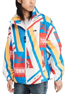 Tommy Hilfiger Denim Men's Printed Logo Windbreaker, Created for Macy's