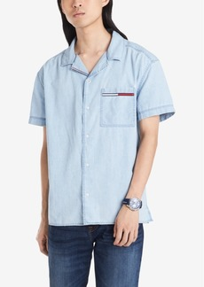 Tommy Hilfiger Denim Men's Regular-Fit Logo Shirt