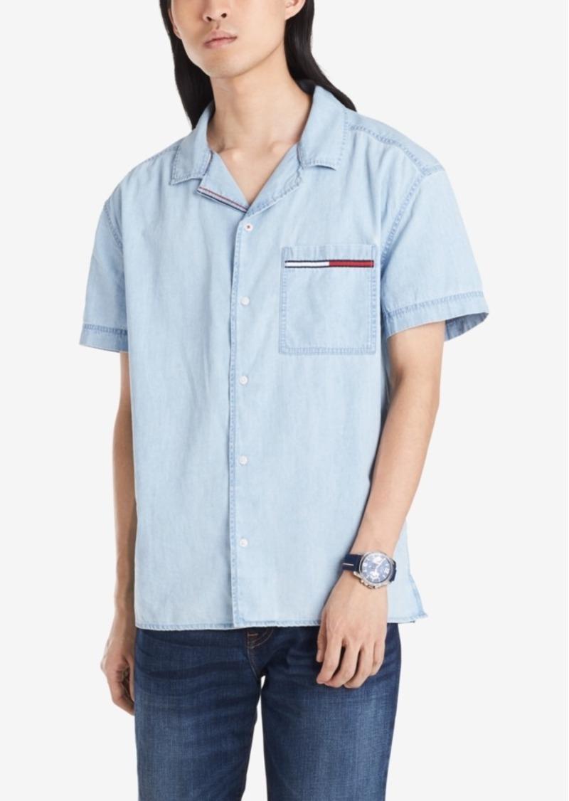 Tommy Hilfiger Denim Men's Regular-Fit Logo Shirt
