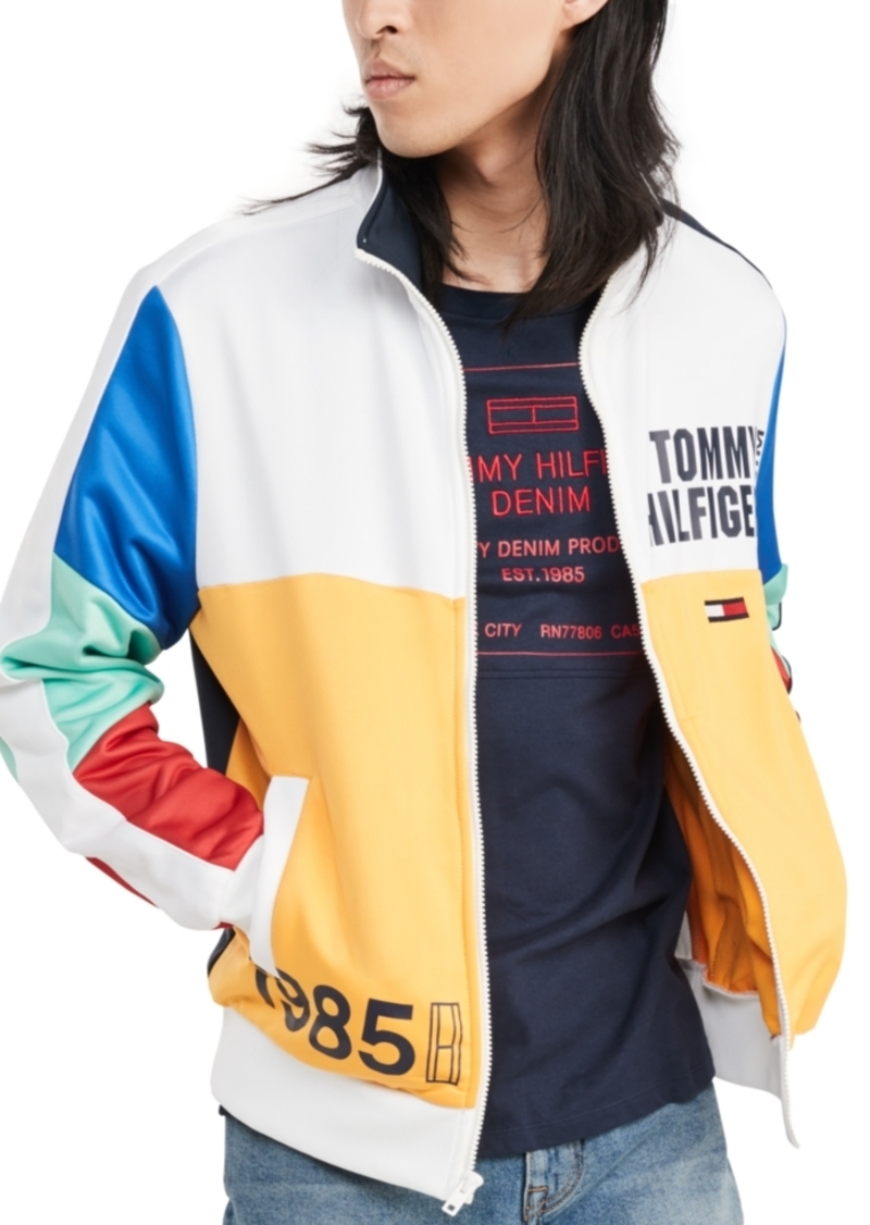Tommy Hilfiger Denim Men's Ricky Blocked Track Jacket