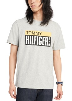 Tommy Hilfiger Denim Men's Terry Logo Graphic T-Shirt, Created for Macy's