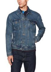 Tommy Hilfiger Denim Men's Varsity Trucker Jean Jacket