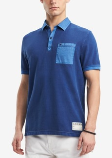 Tommy Hilfiger Denim Men's Zalazar Colorblocked Pocket Polo, Created for Macy's