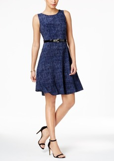 Tommy Hilfiger Denim-Print Jersey Dress