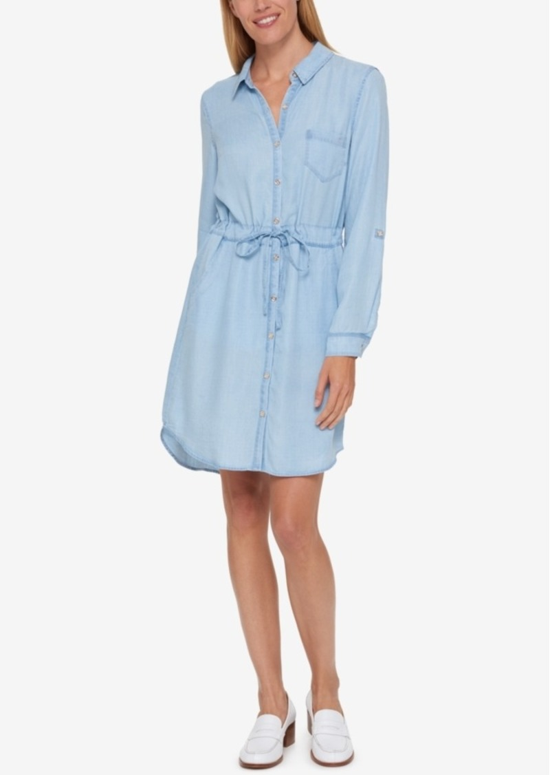 c969b41abeb Tommy Hilfiger Tommy Hilfiger Denim Shirtdress