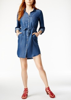 Tommy Hilfiger Denim Shirtdress, Only at Macy's