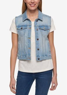 Tommy Hilfiger Denim Vest, Only at Macy's