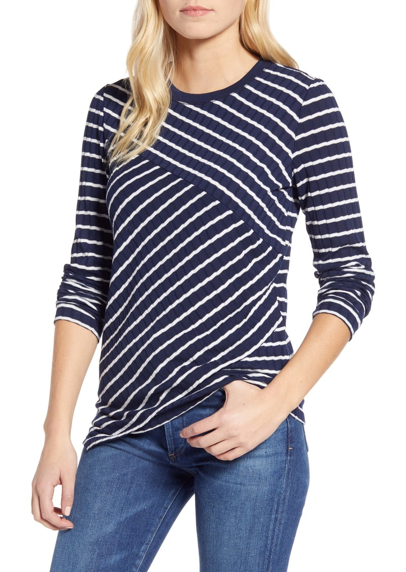 Tommy Hilfiger Diagonal Stripe Top