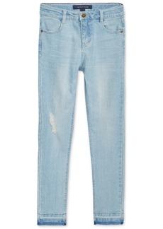 Tommy Hilfiger Big Girls Distressed Skinny Jeans Jeggings