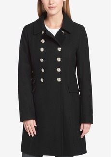 Tommy Hilfiger Double-Breasted Peacoat