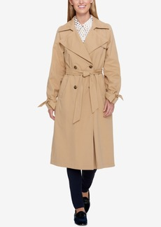Tommy Hilfiger Double-Breasted Trench Coat, Created for Macy's