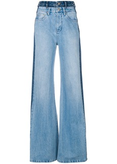 Tommy Hilfiger double jean flares - Blue
