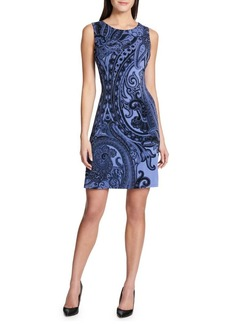 Tommy Hilfiger Dragon Paisley Jersey Sleeveless Dress