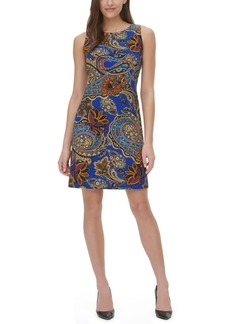 Tommy Hilfiger Dupre Paisley-Print Sheath Dress