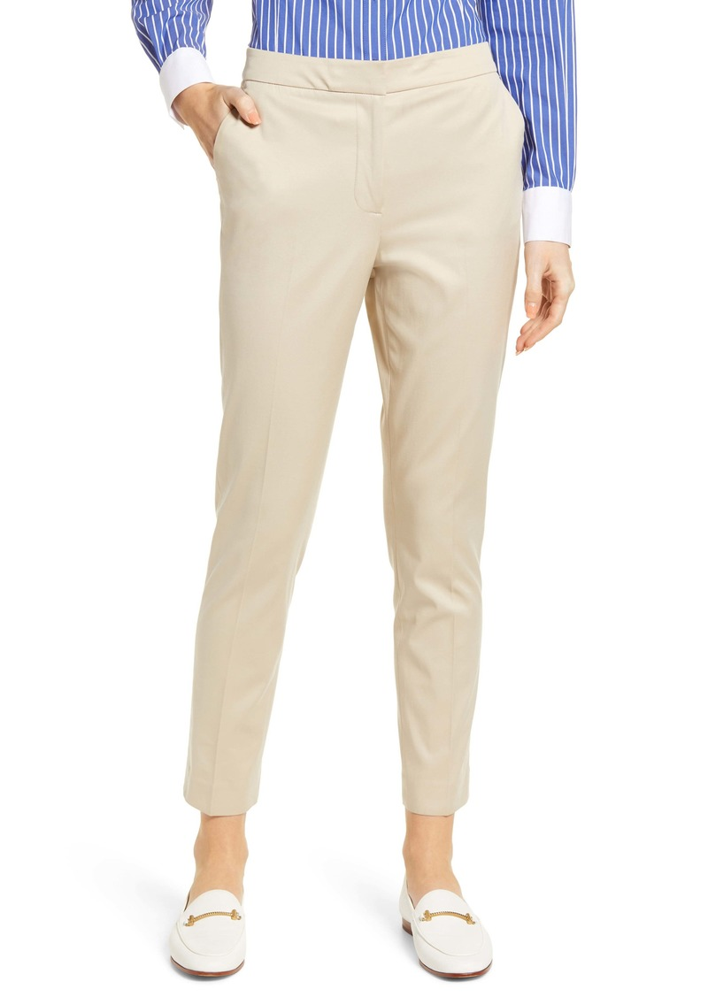 Tommy Hilfiger Elastic Back Stretch Cotton Trousers