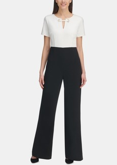 Tommy Hilfiger Embellished Colorblocked Jumpsuit