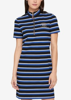 Tommy Hilfiger Embellished Shirtdress, Created for Macy's