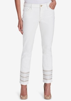 Tommy Hilfiger Embellished Skinny Jeans, Created for Macy's