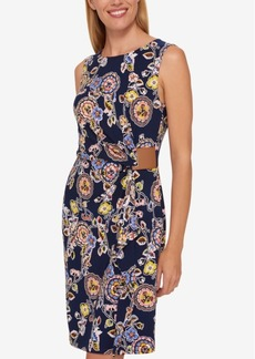 Tommy Hilfiger Embellished Wrap Dress, Only at Macy's