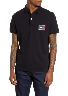 Tommy Hilfiger Embossed Flag Piqué Polo