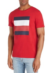 Tommy Hilfiger Embossed-Logo Box Graphic Tee
