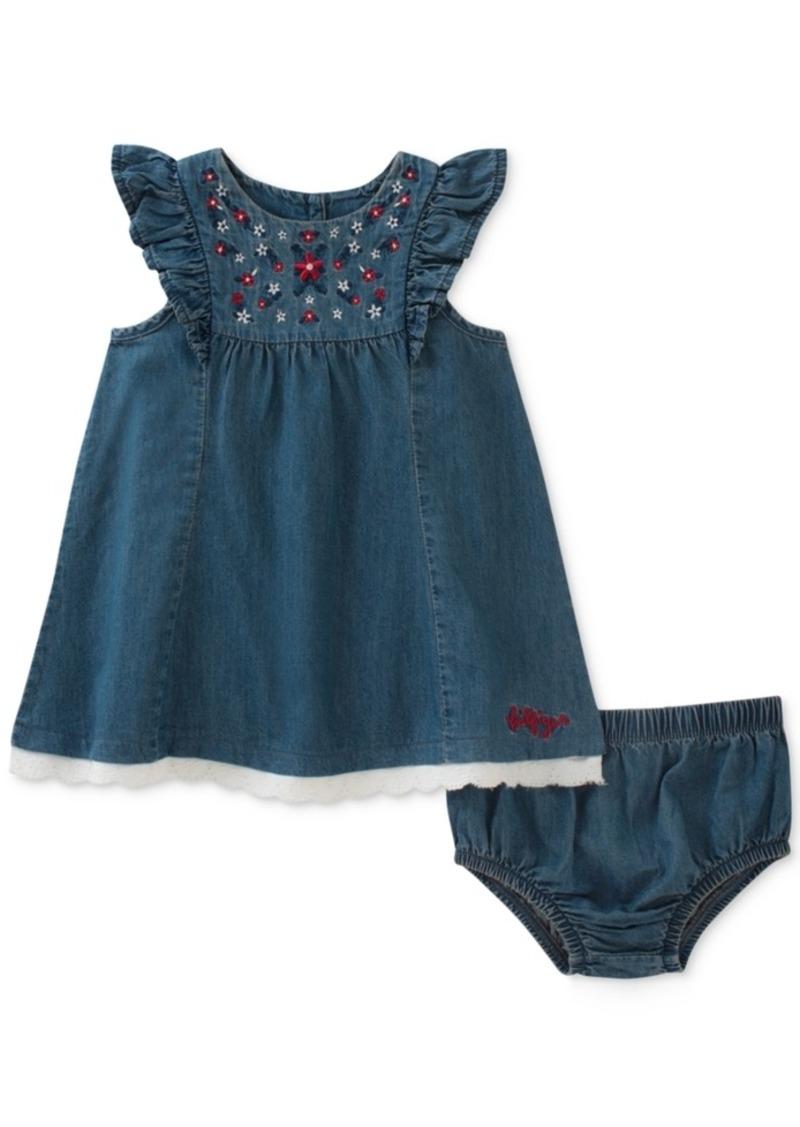 edade6c88 Tommy Hilfiger Tommy Hilfiger Embroidered Denim Dress, Baby Girls ...