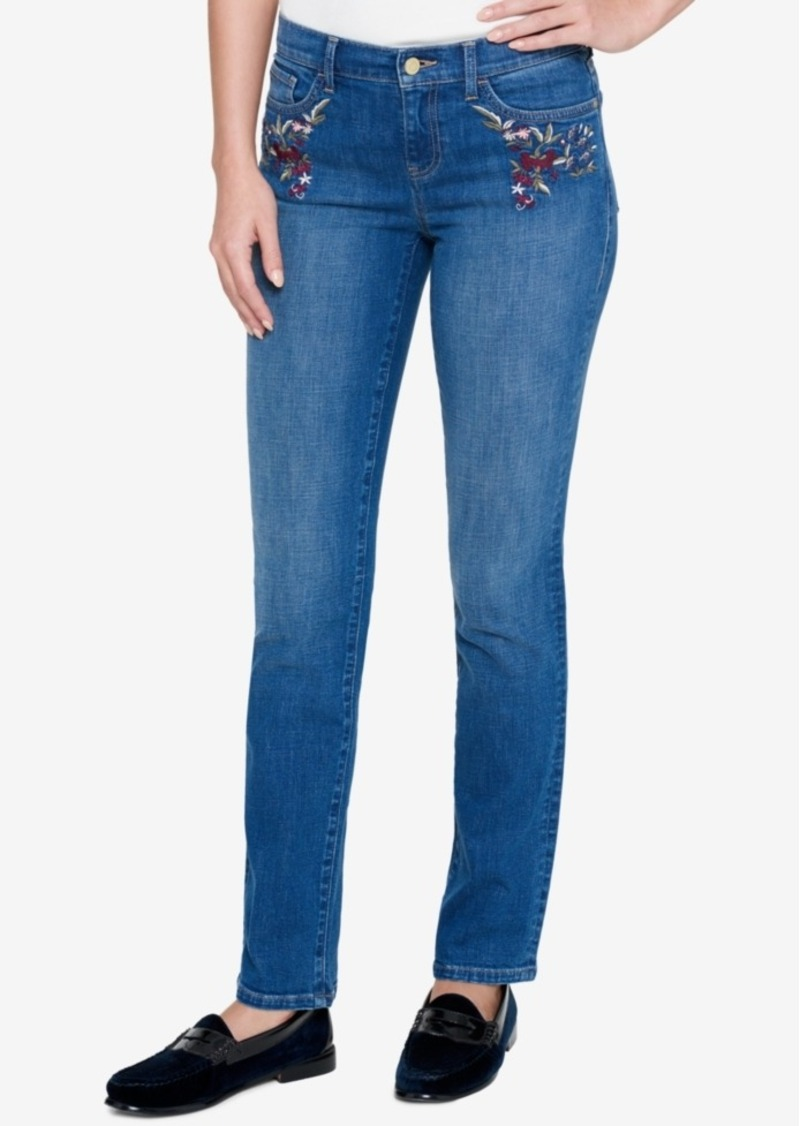 f013292f1 On Sale today! Tommy Hilfiger Tommy Hilfiger Embroidered Straight ...