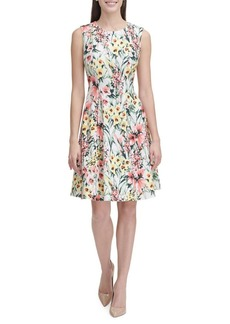Tommy Hilfiger English Garden A-Line Dress