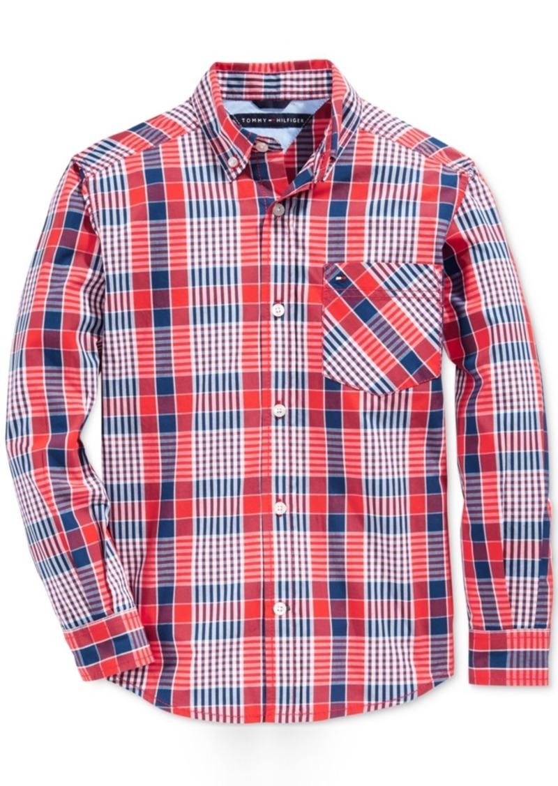 Tommy Hilfiger Everrett Plaid Shirt, Little Boys (2-7)