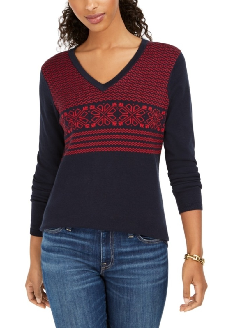 Tommy Hilfiger Fair Isle Ivy Cotton Sweater