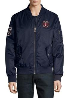 Tommy Hilfiger Fashion Logo Bomber Jacket